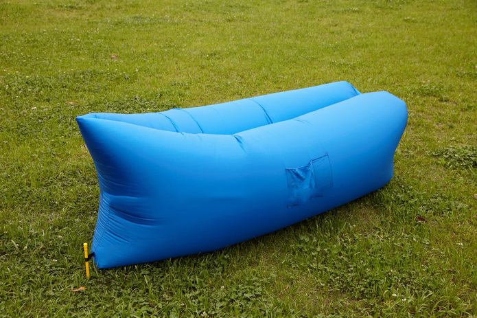 Image of Air King Inflatable Lounger Blue