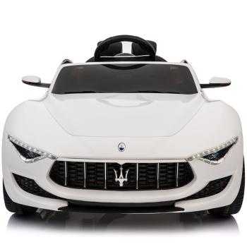 Kids Electric Ride On Car Maserati Alfieri 12v White