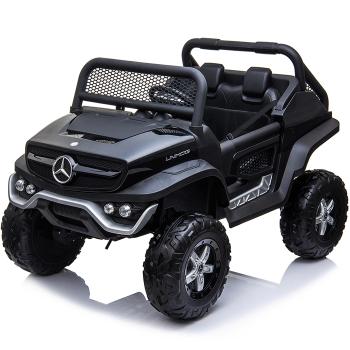 Kids Ride On Mercedes-Benz UniMog - 12V Black