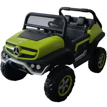 Kids Ride On Mercedes-Benz UniMog - 12V Green