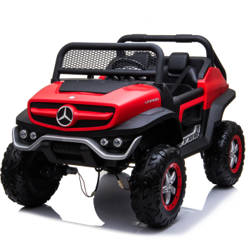 Kids Ride On Mercedes-Benz UniMog - 12V Red