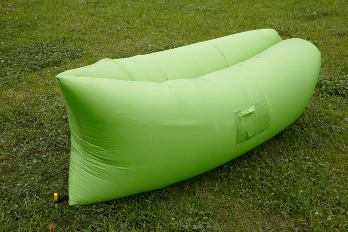 Image of Air King Inflatable Lounger Green
