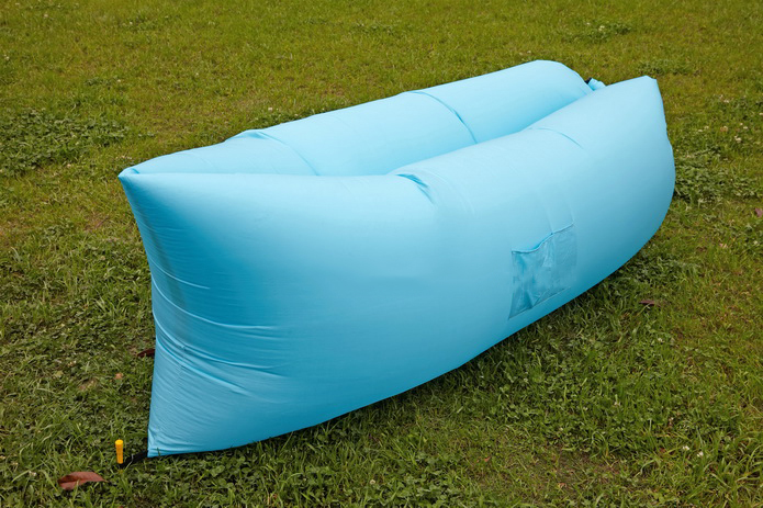 Image of Air King Inflatable Lounger Light Blue