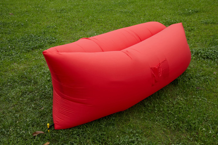 Image of Air King Inflatable Lounger Red