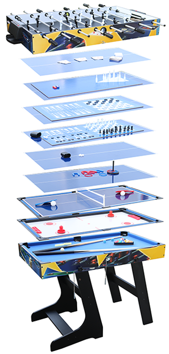 Image of Air League 12 in 1 Folding Games Table