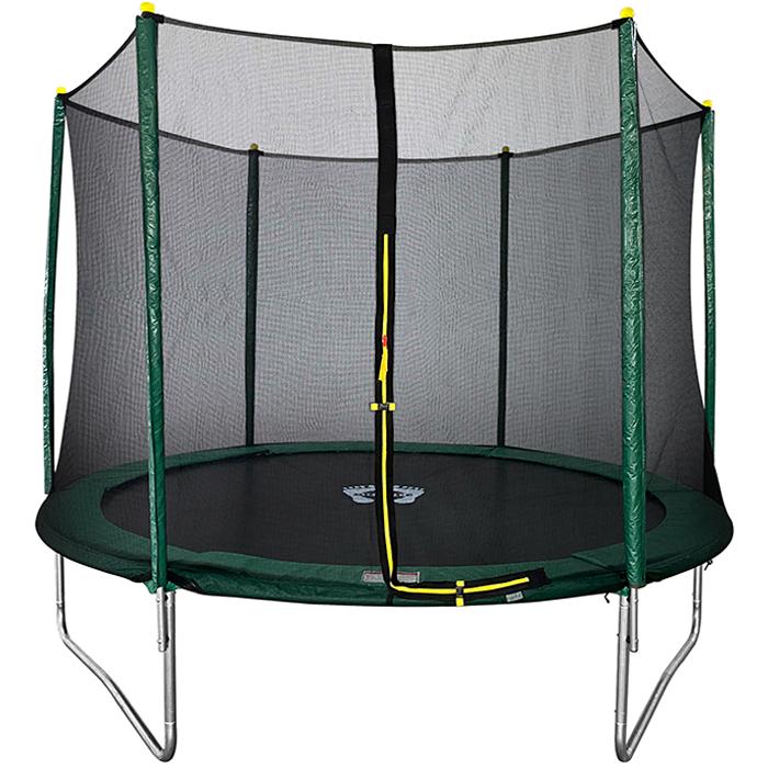 Image of Air Dog 10ft Trampoline + Enclosure Green