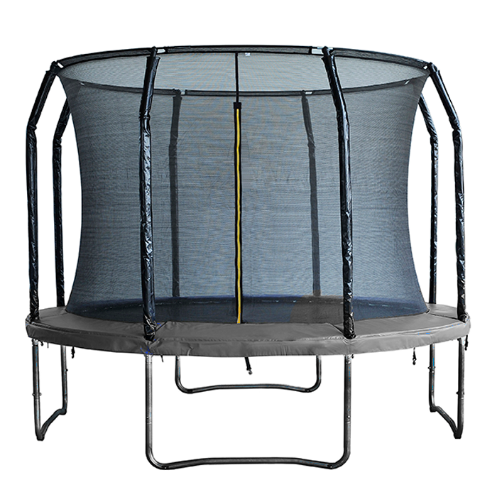 Image of Air League 14ft Trampoline with Enclosure Black