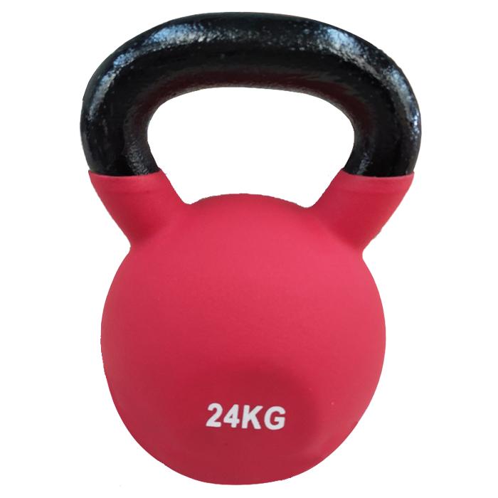 Fitness Equipment Ironman 24kg Cast Iron Coated Kettlebell
