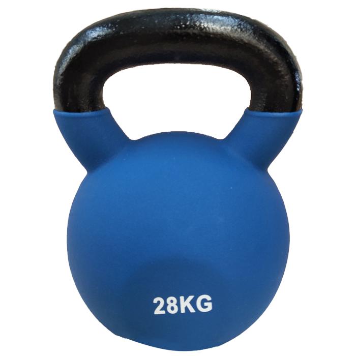 Fitness Equipment Ironman 28kg Cast Iron Coated Kettlebell