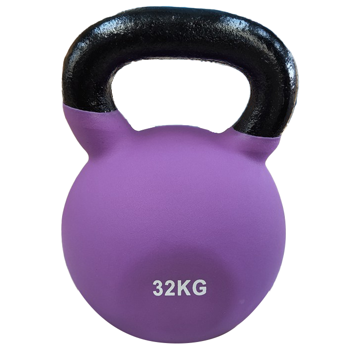 Fitness Equipment Ironman 32kg Cast Iron Coated Kettlebell