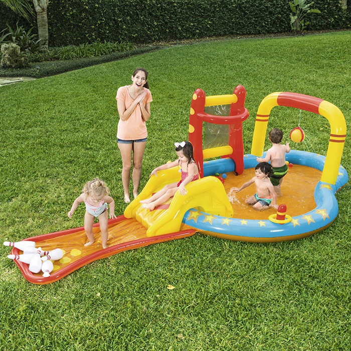 Image of Bestway Lil' Champ Paddling Pool Play Centre