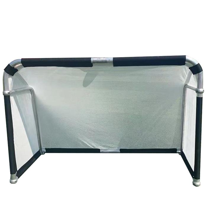 Hillman 4ft x 2.5ft Aluminium Folding Football Goal