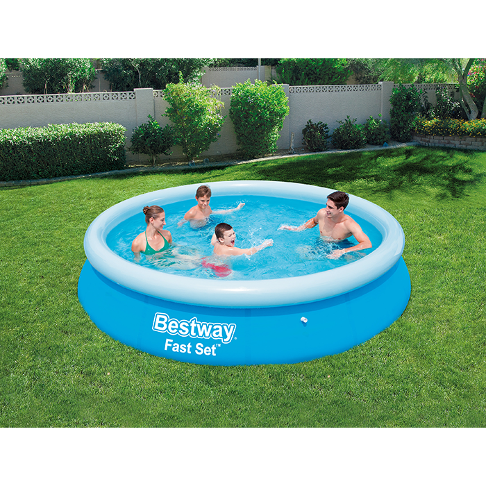 Bestway 12ft X 30inch Fast Set Above Ground Swimming Pool