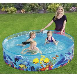 Bestway Sea Life 6ft Paddling Pool