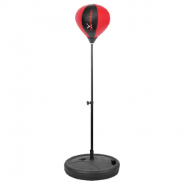 IronMan Free Standing Kids Punch Ball Red