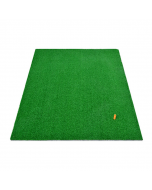 Hillman Golf Artificial Turf Large Practice Mat with Rubber Tee