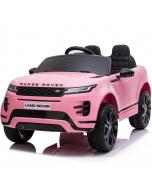 Kids Electric Ride On Range Rover Evoque Pink