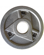 Ironman Olympic Grey Hammerton Tri-Grip Plates 2x 5lb