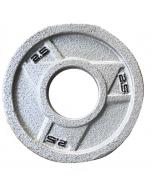 Ironman Olympic Grey Hammerton Tri-Grip Plates 2x 2.5lb