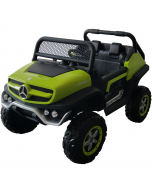 Kids Ride On Mercedes-Benz UniMog - 12V Green