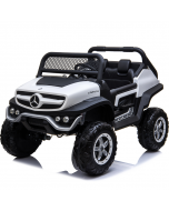 Kids Electric Ride On Mercedes-Benz UniMog White