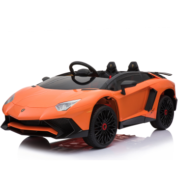 Kids Ride On Lamborghini Aventador Opening Doors Orange