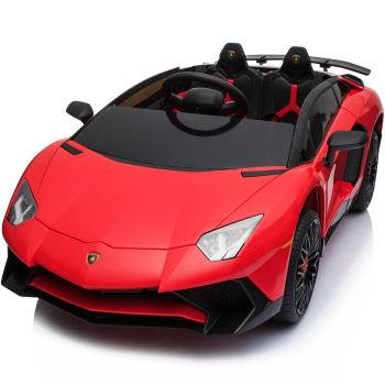 Kids Ride On Lamborghini Aventador Opening Doors Red