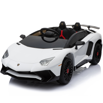 Kids Ride On Lamborghini Aventador Opening Doors White
