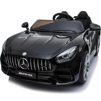 Kids Electric Car Mercedes AMG GT 12v Twin Seat - Black