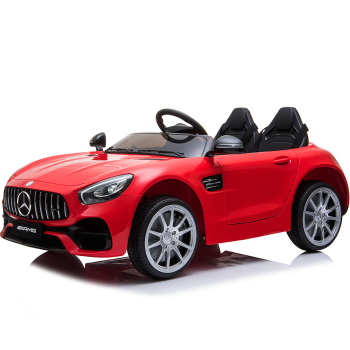 Kids Electric Car Mercedes AMG GT 12v Twin Seat - Red