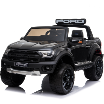 Kids Electric Ride On Ford Ranger Raptor Black