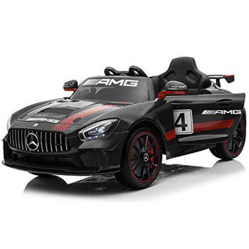 Kids Electric Ride On Mercedes GT4 AMG Black
