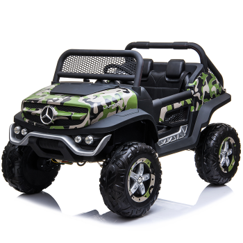 Kids Ride On Mercedes-Benz UniMog Camouflage Gloss