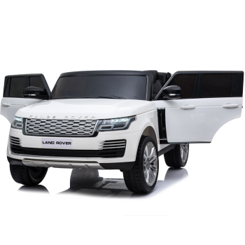 Kids Electric Ride On Range Rover Vogue White