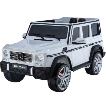 Kids Ride On Electric Car Mercedes G65 AMG White