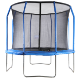 Big Air Extreme 10ft Trampoline with Safety Enclosure Blue