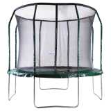 Big Air Extreme 10ft Trampoline with Safety Enclosure Green