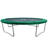 Air League 10ft Trampoline Green