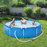 BestWay 10ft x 30inch Steel Pro™ Above Ground Swimming Pool Set
