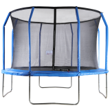 Big Air Extreme 12ft Trampoline with Safety Enclosure Blue