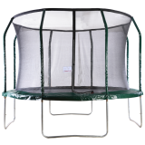 Big Air Extreme 12ft Trampoline with Safety Enclosure Green