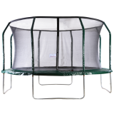 Big Air Extreme 14ft Trampoline with Safety Enclosure Green