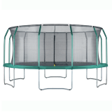 Air League 16ft Trampoline & Enclosure Green