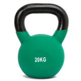 Ironman 20kg Cast Iron Coated Kettlebell