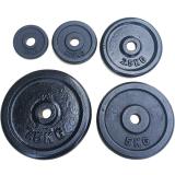 Ironman 43.5kg Black Standard Weight Plate Set