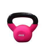 Ironman 4kg Cast Iron Coated Kettlebell