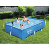 Bestway 8ft 6inch Rectangular Above Ground Steel Pro Swimming Pool