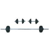 Ironman 50kg Standard Dumbbell & Barbell Set