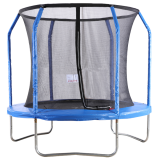 Big Air Extreme 8ft Trampoline with Safety Enclosure Blue