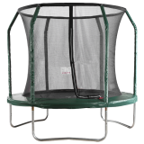 Big Air Extreme 8ft Trampoline with Safety Enclosure Green